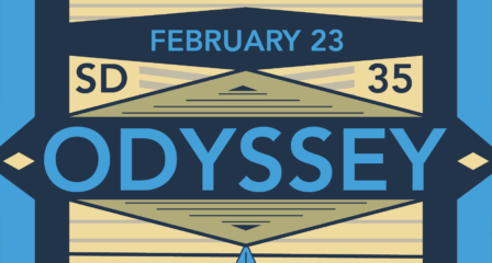 Christmas Came Early! The Odyssey '18 Program is Here!